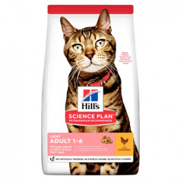 Hill's Gatto adult light medium tonno 1,5 kg -