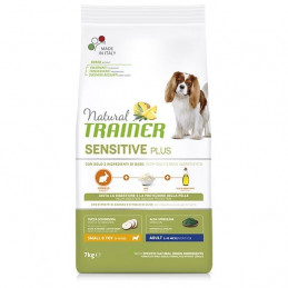 Trainer Natural Sensitive Adult small & toy Coniglio 7 kg -