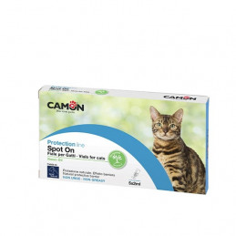 Camon -Vet Fiale Spot-on per Gatti all'olio di neem -
