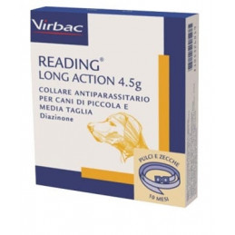Virbac Collare Reading Long Action 50 cm tg. piccola media -