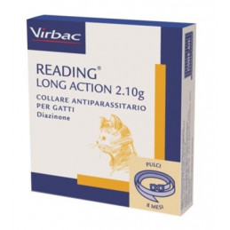 Virbac - Collare Reading Long Action per Gatti -