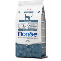 Natural Superpremium Sterilised Monoprotein con Trota 1,5 Kg. -