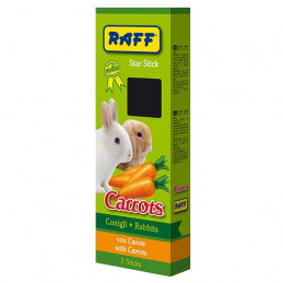 Raff Stick Conigli Carrots 112 gr. -