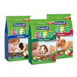 VITAKRAFT Life Porcellini d'India 600 gr. -