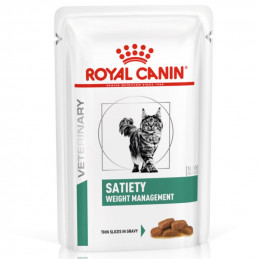 Royal Canin Vet Gatto Satiety Weight Management (12 bustine da 85 g) -