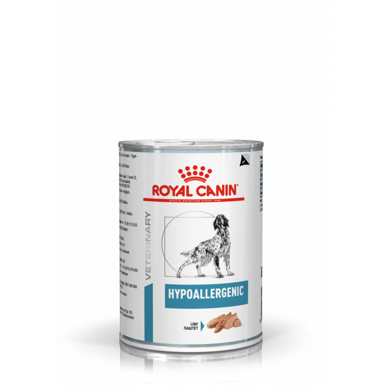 royal canin Hypoallergenic cane umido 400 gr -