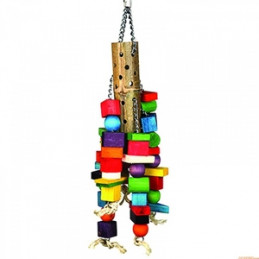 "HAPPY PET Bamboo Supersize Wooden 63 cm 24,75"" -"