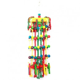 HAPPY PET Parrot Toy Waterfall 25 x 85 cm -