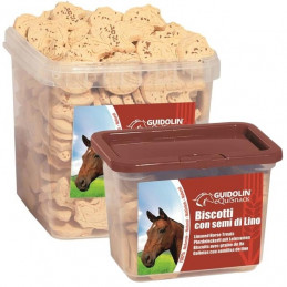 2G PET FOOD GUIDOLIN GIANNI Equisnack Biscotti con Semi di Lino 700 gr. -