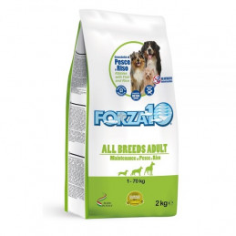 FORZA 10 Maintenance All Breeds Adult al Pesce e Riso 12,5 kg. -