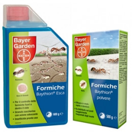 BAYER CROPSCIENCE Baythion Esca Formiche in Polvere 375 gr. -