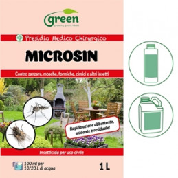 GREEN RAVENNA Microsin Insetticida 250 ml. -