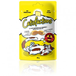 CATISFACTIONS Snack Formaggio 60 gr. -