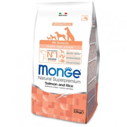 copy of MONGE Natural Superpremium All Breeds Puppy & Junior Agnello e Riso 800 gr. -