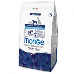 MONGE Natural Superpremium Medium Puppy & Junior Ricco di Pollo 800 gr. -
