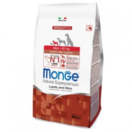 copy of MONGE Natural Superpremium Medium Puppy & Junior Ricco di Pollo 3 kg. -