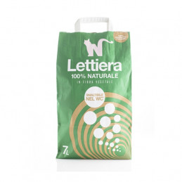 Natural Code - Lettiera 100% Naturale in fibra vegetale 2,70 kg -