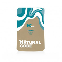 Natural Code - Kitten Pouch Tonno ( 1 bustina 70 gr. ) -