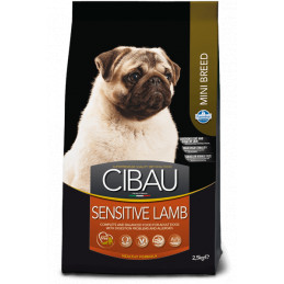Farmina cibau adult mini sensitive agnello 2,5 kg -
