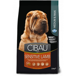 Farmina cibau adult medium & maxi sensitive agnello 12 kg -