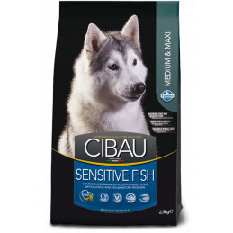Farmina cibau adult medium & maxi sensitive pesce 12 kg -