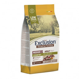 copy of EXCLUSION Ancestral Low Grain Country Adult Large con Maiale, Agnello e Uova 12 kg. -