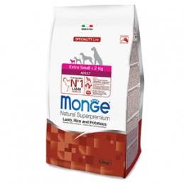 MONGE Natural Superpremium All Breeds Adult Monoprotein Manzo con Riso 12 kg. -