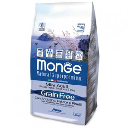 copy of MONGE Natural Superpremium Extra Small Adult Salmone e Riso 2,5 kg. -