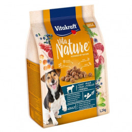 VITAKRAFT Vita Nature Vitello con Carote e Mirtilli 1,20 kg. -