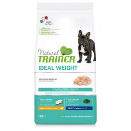 TRAINER Natural Ideal Weight Care Small & Toy Adult con Carni Bianche 2 kg. -