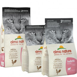 ALMO NATURE Holistic Kitten Pollo e Riso 2 kg. -