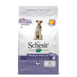 SCHESIR Dry Line Medium Mature Mantenimento con Pollo 3 kg. -