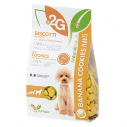 2G PET FOOD GUIDOLIN GIANNI Cookies con Banana e Fiocchi d'Avena 350 gr. -