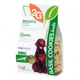 2G PET FOOD GUIDOLIN GIANNI Cookies con Basilico 350 gr. -