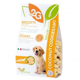 2G PET FOOD GUIDOLIN GIANNI Cookies con Cocco e Fiocchi di Riso 350 gr. -
