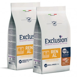 EXCLUSION DIET Renal Adult Small Breed con Maiale, Sorgo e Riso 2 kg. -