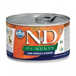 FARMINA N&D PIMPKIN Mini Puppy con Agnello, Zucca e Mirtillo 140 gr. -