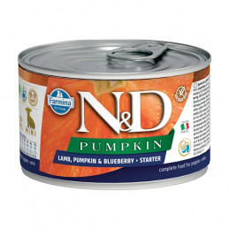 FARMINA N&D PUMPKIN Starter con Agnello, Zucca e Mirtillo 140 gr. -