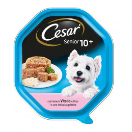 CESAR Senior 10+ Vitello e Riso in Gelatina 150 gr. -