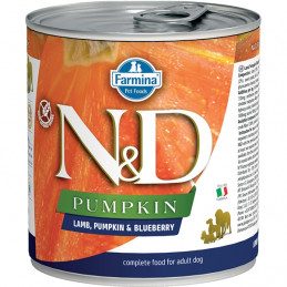 FARMINA N&D PUMPKIN con Agnello, Zucca e Mirtillo 285 gr. -