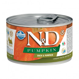 FARMINA N&D PUMPKIN Mini con Anatra e Zucca 140 gr. -