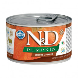 FARMINA N&D PUMPKIN Mini con Cervo e Zucca 140 gr. -